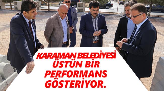 AK PARTİ GENEL MERKEZ YEREL YÖNETİMLER BAŞKAN YARDIMCISI KARAMAN'I ZİYARET ETTİ