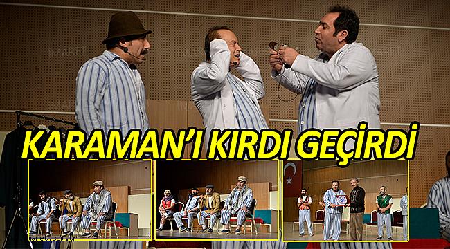 PİJAMALI ADAMLAR KARAMAN'I KIRDI GEÇİRDİ