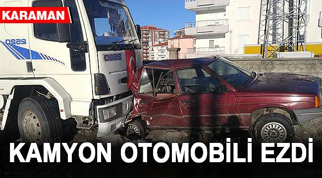 KAMYON OTOMOBİLİ EZDİ
