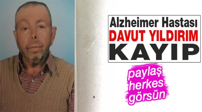 Kayıp Alzheimer Hastası İçin Arama Çalışması Başlatıldı.