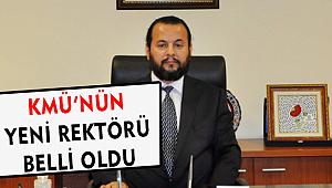 KMÜ'NÜN YENİ REKTÖRÜ PROF. DR. MEHMET AKGÜL OLDU.