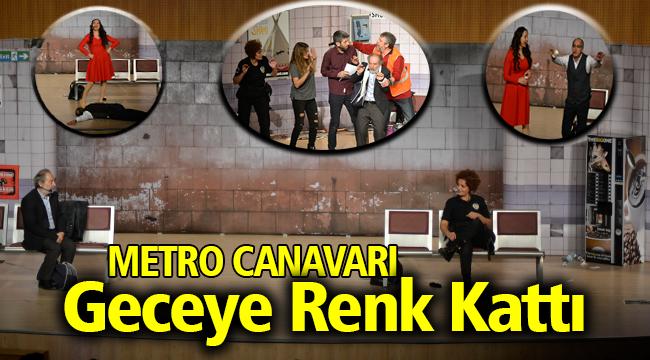 'METRO CANAVARI' GECEYE RENK KATTI