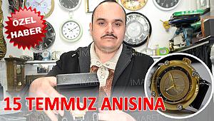 SAATÇİ ALİ USTA'NIN ANLAMLI SAATİ