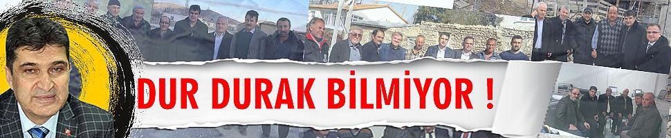 AK PARTİ İL BAŞKANI DUR DURAK BİLMİYOR !