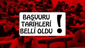 2017 DGS BAŞVURU TARİHLERİ BELLİ OLDU!