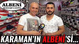 KARAMAN'IN ALBENİ'Sİ...