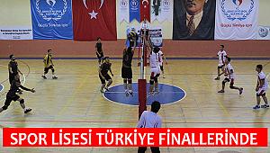SPOR LİSESİ VOLEYBOL TAKIMI, TÜRKİYE FİNALLERİNDE