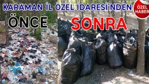 KARAMAN'IN ONURUNU KARAMAN İL ÖZEL İDARESİ KORUDU