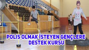 KARAMAN GHSİM'DEN POLİS OLMAK İSTEYEN GENÇLERE DESTEK DEVAM EDİYOR
