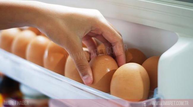 Yumurtaları Buzdolabının Kapağında Saklamayın