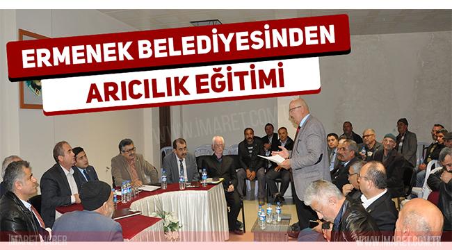 Ermenek'te Arıcılık Bilgilendirme Toplantısı