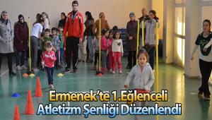 ERMENEK'TE 1. EĞLENCELİ ATLETİZM ŞENLİĞİ DÜZENLENDİ