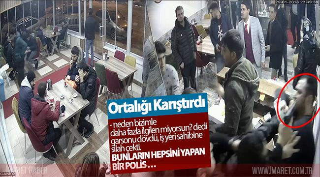 POLİS MEMURU ORTALIĞI BİRBİRİNE KATTI