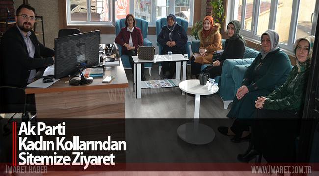 AK Parti Kadın Kollarından Sitemize Ziyaret