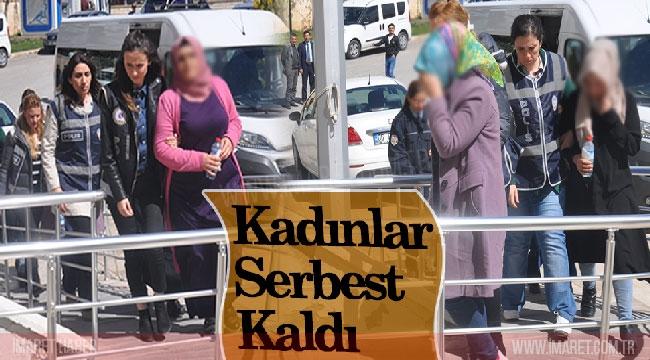 KADINLAR SERBEST KALDI