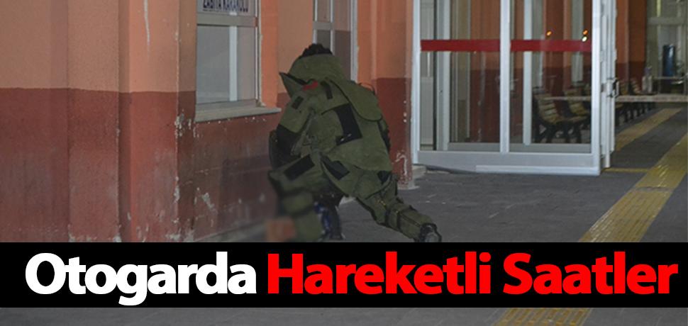OTOGARDA HAREKETLİ SAATLER