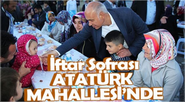 İftar Sofrası Atatürk Mahallesi'nde