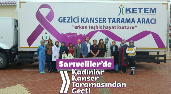 Kadınlar Kanser Taramasından Geçti