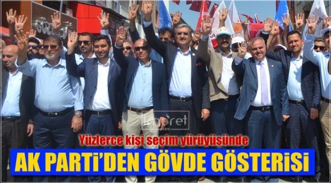 AK Parti'den gövde göstersi