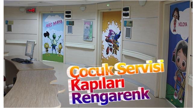 Çocuk Servisi Kapıları Rengarenk