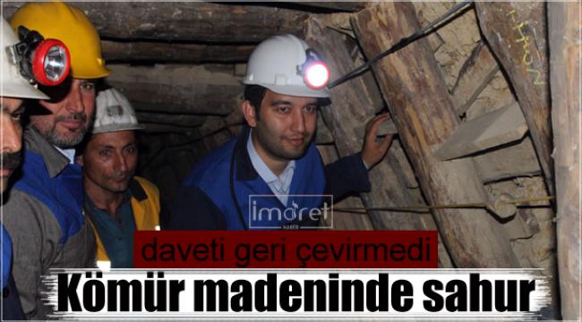 Madende sahur yaptılar