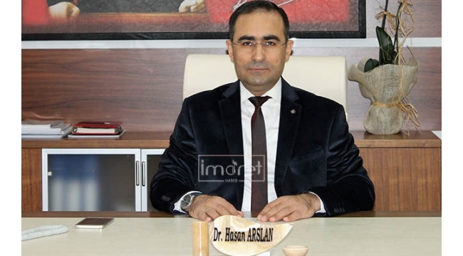 İl Sağlık Müdürü Dr. Hasan Arslan'ın Basın Bayramı Mesajı