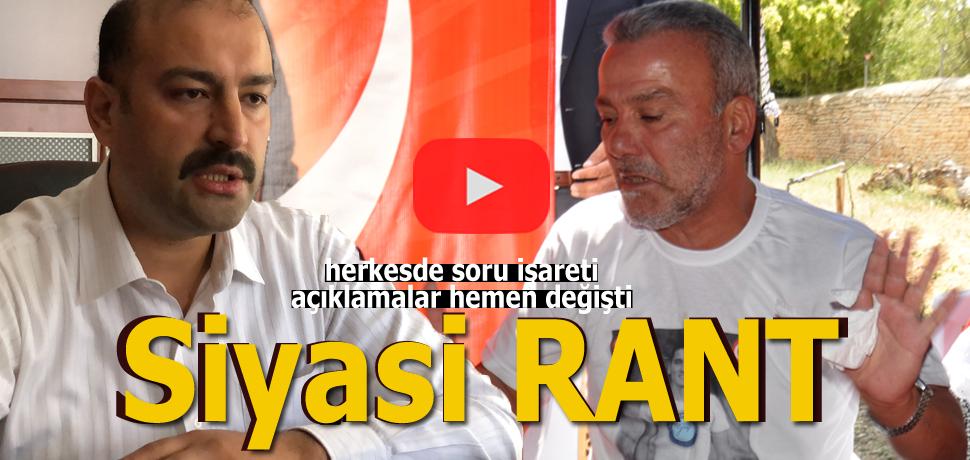 Karaman'da siyasi rant