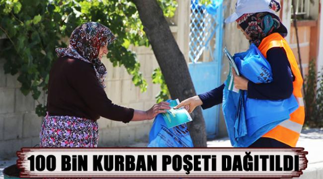 100 BİN KURBAN POŞETİ DAĞITTILDI