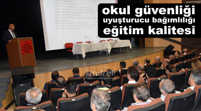 Eğitim- Öğretim Yılı Toplantısı Yapıldı