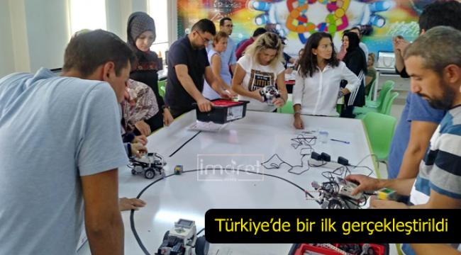 Türkiye'de bir ilk gerçekleştirildi