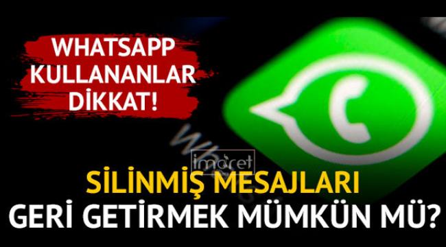 Whatsapp ile ilgili küçük tüyolar.