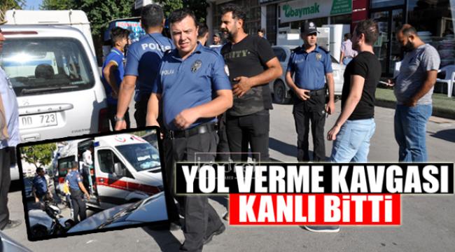YOL VERME KAVGASI KANLI BİTTİ