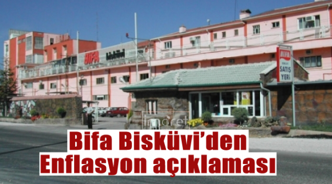 Bifa'dan Enflasyon açıklaması