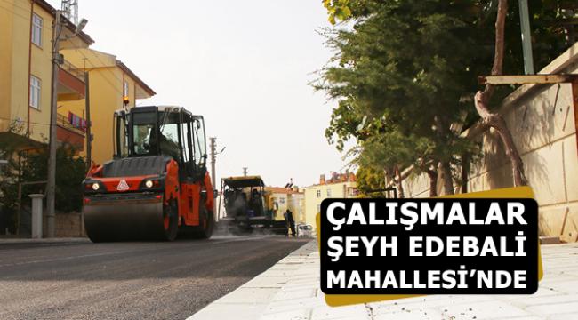 ÇALIŞMALAR ŞEYH EDEBALİ MAHALLESİ'NDE