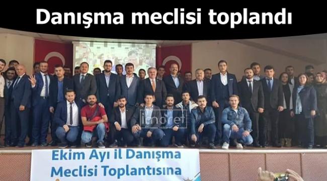 Danışma meclisi toplandı