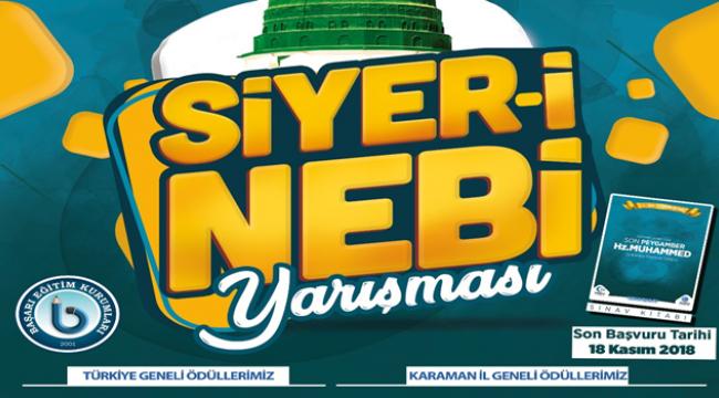Siyer-i Nebi yarışması yapılacak
