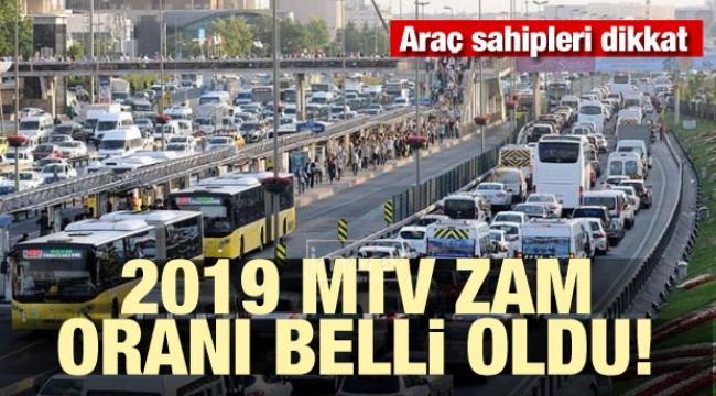 2019 MTV zam oranları belli oldu