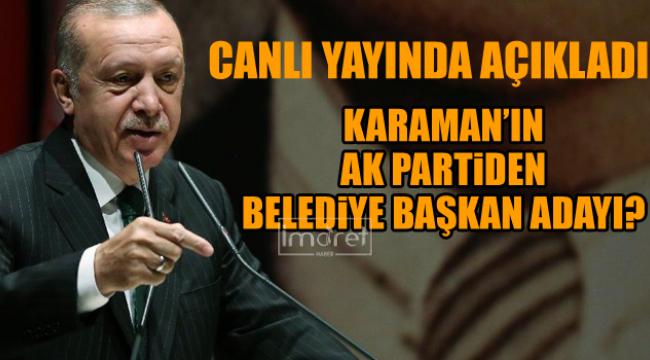 AK Parti'in Karaman Belediye Başkan Adayı