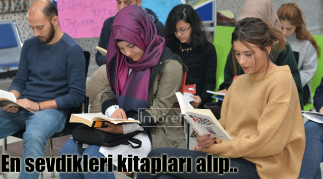 En sevdikleri kitapları okudular