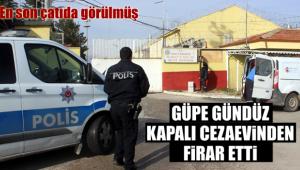 Karaman'da kapalı cezaevinden firar etti