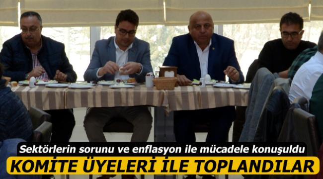 Karaman'da Komite Toplantısı Yapıldı