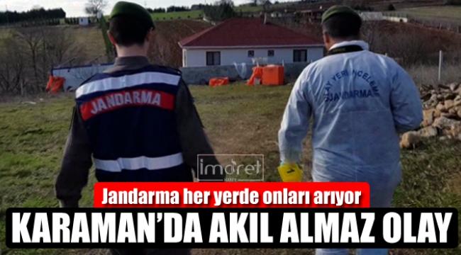 Karaman'da pes artık dedirten olay