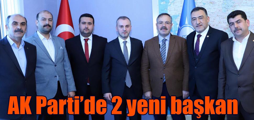AK Parti'de 2 yeni başkan