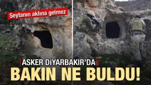 Asker Diyarbakır'da buldu!