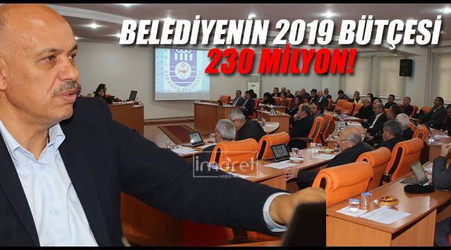 Karaman belediyesinin 2019 bütçesi belirlendi