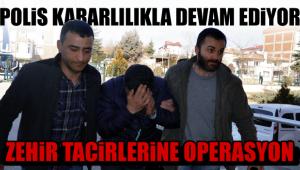Karaman'da uyuşturucu ticaretine tutuklama