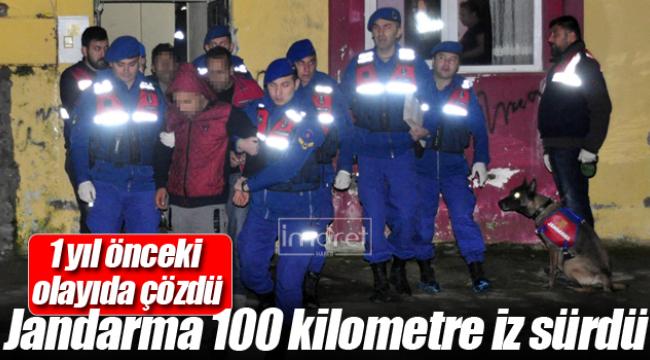 100 Kilometre Takip Edip Ereğli'de Yakaladılar