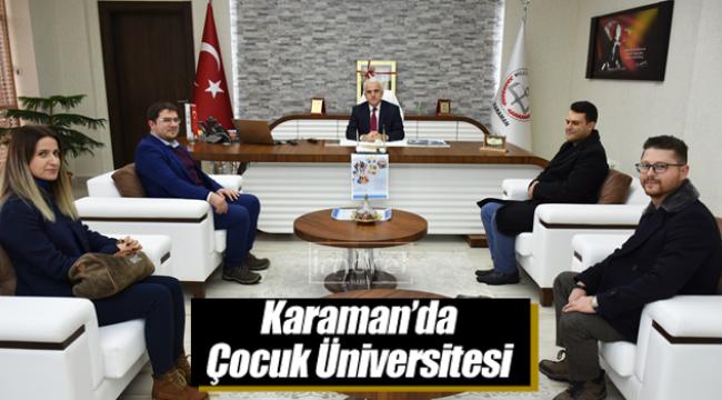 Karaman'da çocuk üniversitesi