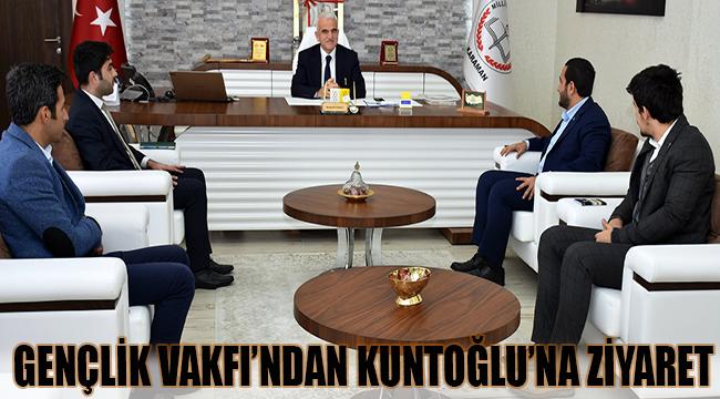 TÜGVA'dan Kuntoğlu'na Ziyaret