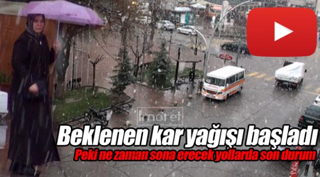 Karaman'da kar yağışı ne zaman sona erecek